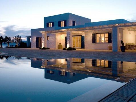Simple ville grecia affitto di ville in grecia with ville for Interni case lussuose